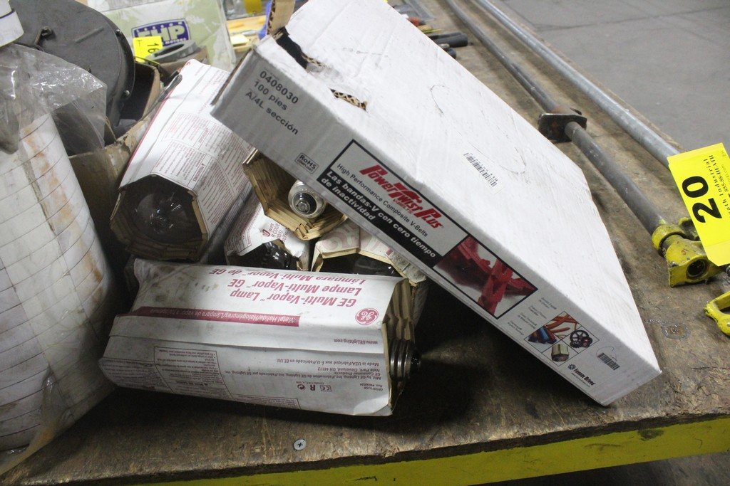 Lot: Miscellaneous: Electrical - Belts - Plumbing - Tape - Image 3 of 3