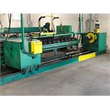 6000 Lbs Capacity Motorized Double End Uncoiler / Rewinder, Serial Number: N/A Motorized