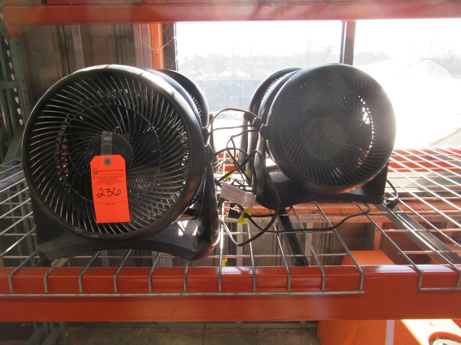 Lot 236 - Honeywell HT-908 Fans Lot of 6