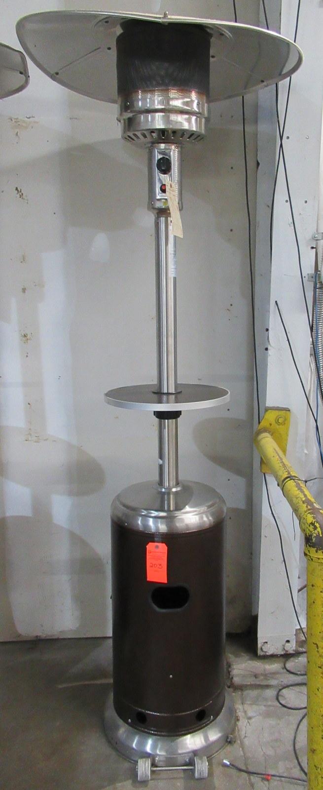 Lot 203 - Uline H-5839 Bronze Patio Heater