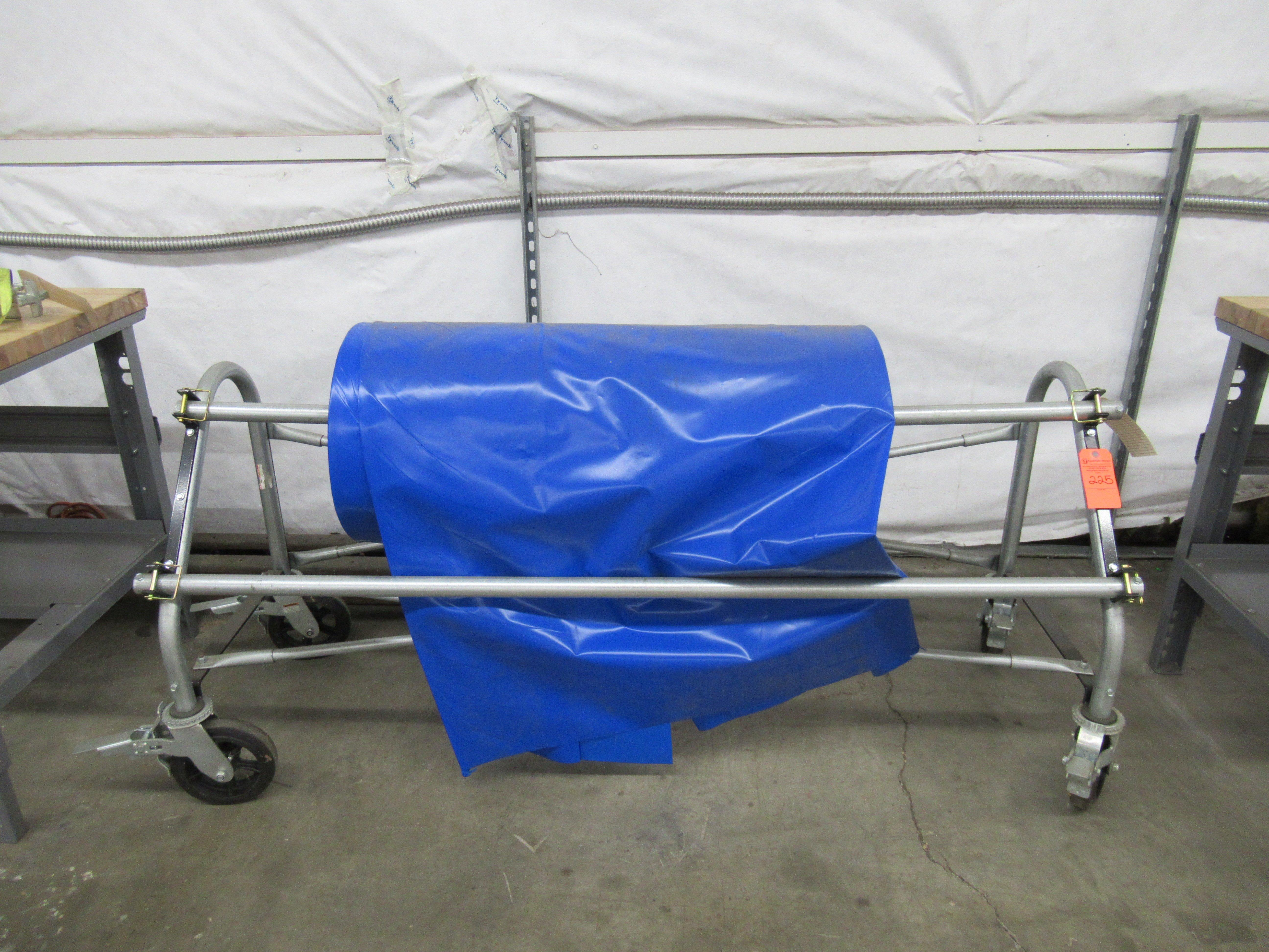 Lot 225 - Metal Cart for Industrial Plastic Rolls
