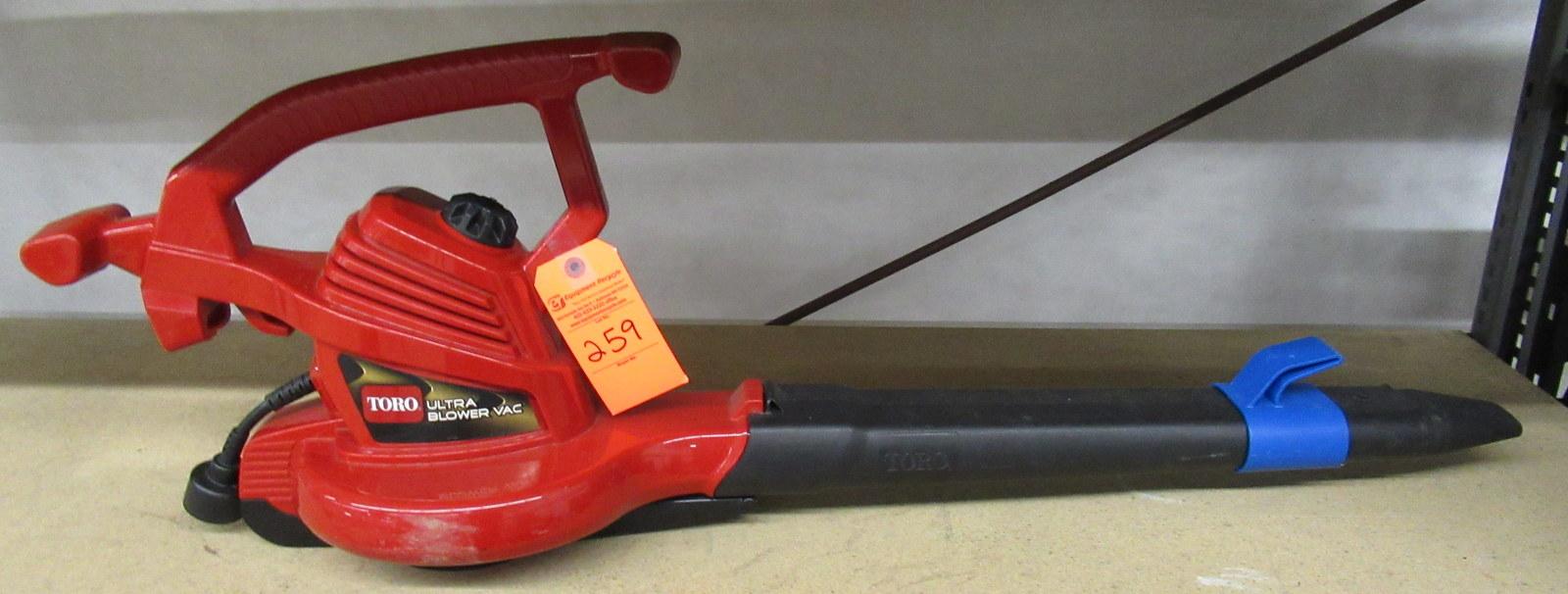Lot 259 - Toro 51619 Ultra Blower Vac