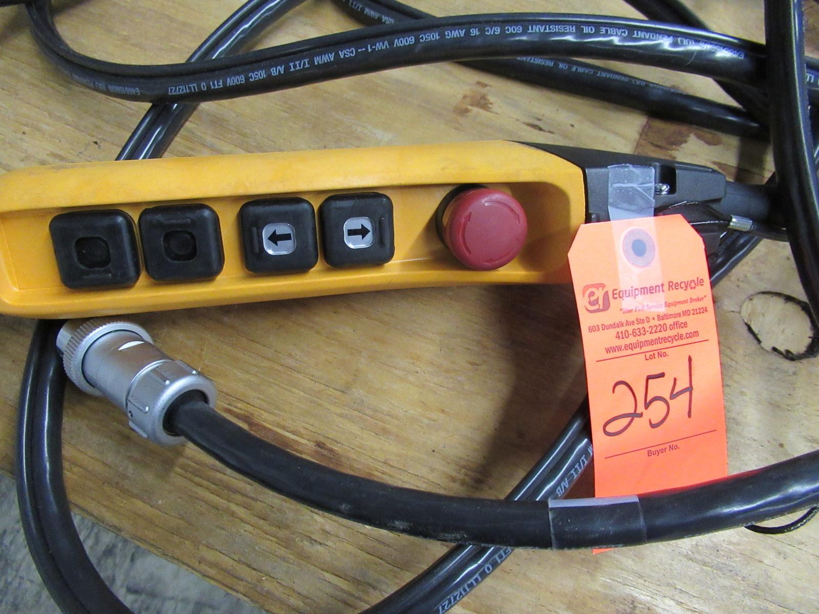 Lot 254 - Crane Hoist Control