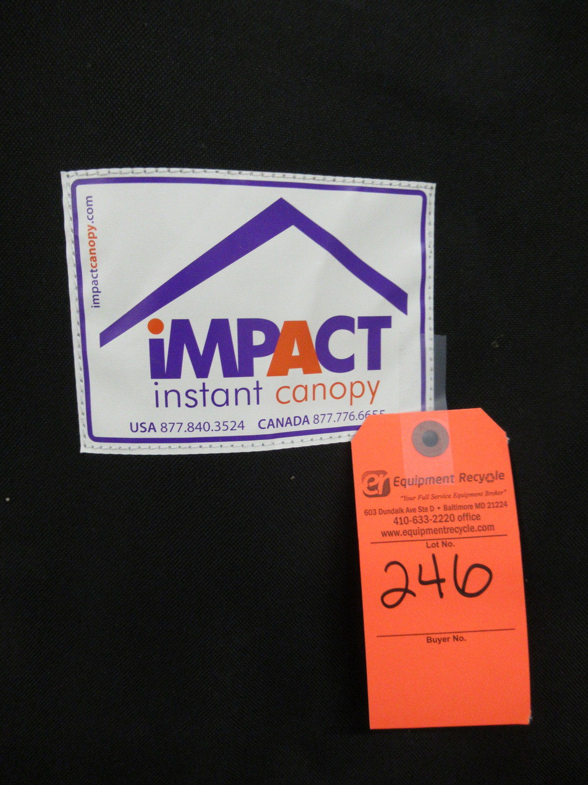 Lot 246 - Impact Instant Canopy