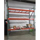 "Uline Pallet Racking 42"" 5 Sections"