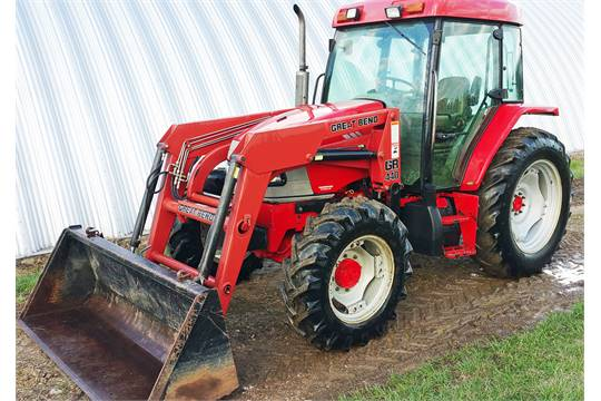 Mccormick Cx70 Tractor Mfwd Cha Great Bend 440 Loader Wquick. Wiring. Case Ih Cx70 Wiring Schematic At Scoala.co