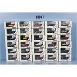 Konv. 30 Herpa H0 Privat Collection Modellfahrzeuge, dabei Pkw, Sport- und Rallyewagen,