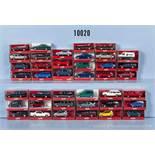 Konv. 40 Herpa H0 Modellfahrzeuge, Pkw, Limousinen usw., sehr guter bis neuwertiger Zustand in