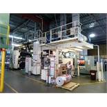 "1998 Carint 8-colour central impression flexographic printing press, 59"" wide, type Gemini 2008 ("