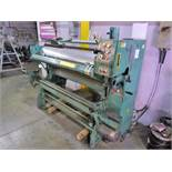 Moss type rubber plate mounter proofer, model 18-3, ser. no. 299 (Located in Mississauga, ON)