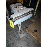 impulse sealer, 12 in. (Located in Mississauga, ON)