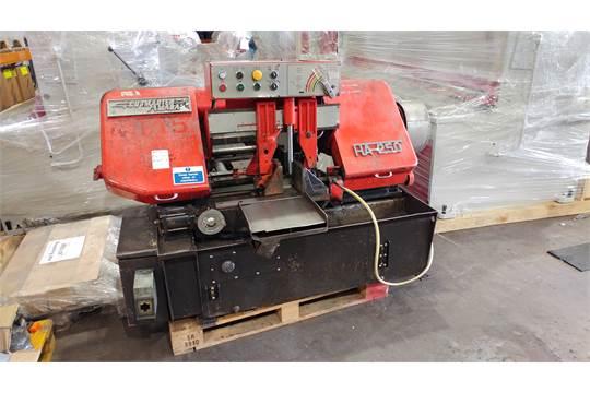 Used Amada Cutmaster HA-250 Vice Feed Automatic Bandsaw Stock Code