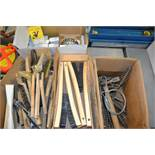 LOT - WIRE BRUSHES & STEEL KNOT WHEELS