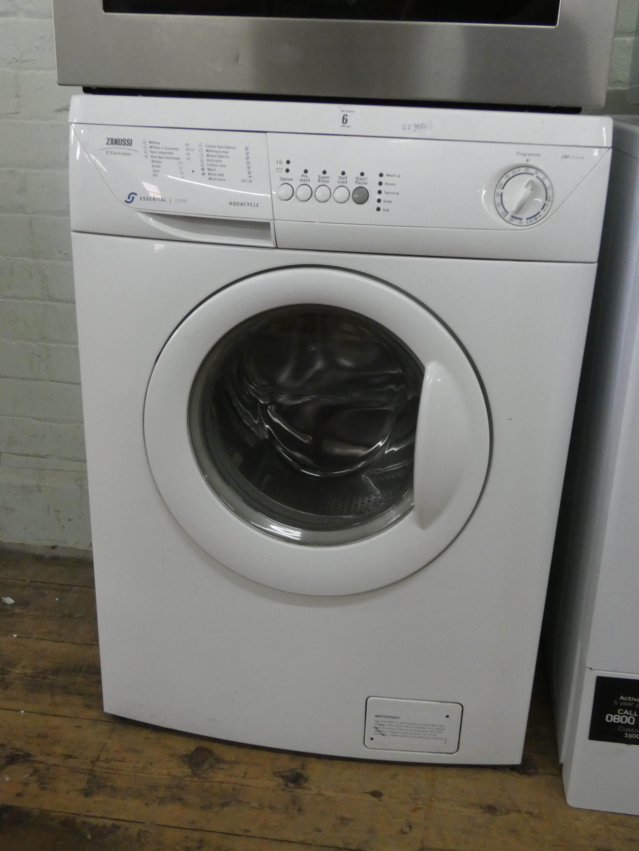 Lot 6 - A Zanussi Aqua cycle washing machine