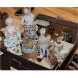 A quantity of mixed decorative ceramics and glassware
