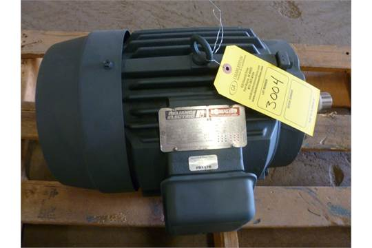 Reliance electric motor mod p21g4901 aa 230 460 v 3 phase for 10 hp single phase motor amps