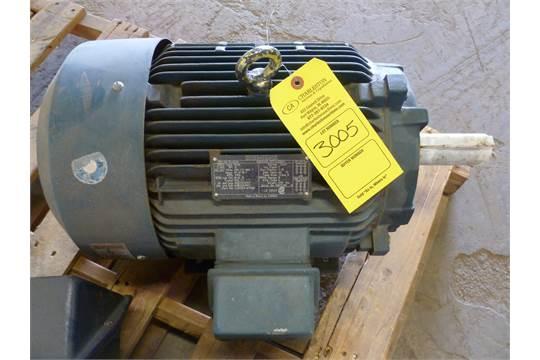 Siemens Pe 21 Plus Electric Motor Type Rgze 15 Hp 230 Yy