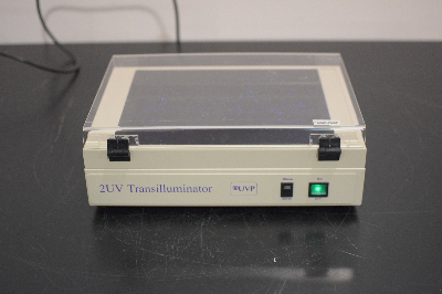 UVP LM-26E Benchtop 2UV Transilluminator Dual Wavelength UV Lightbox