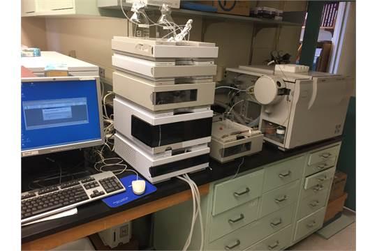 agilent 1100 series lc msd model g1946d mass spectrometer make rh bidspotter com HP Agilent 1100 Agilent 1200 Series HPLC System