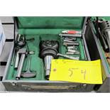 """NAREX BORING CHUCK 1 3/8"""" W/CAT50 TOOL HOLDER AND ATTACHMENTS"""