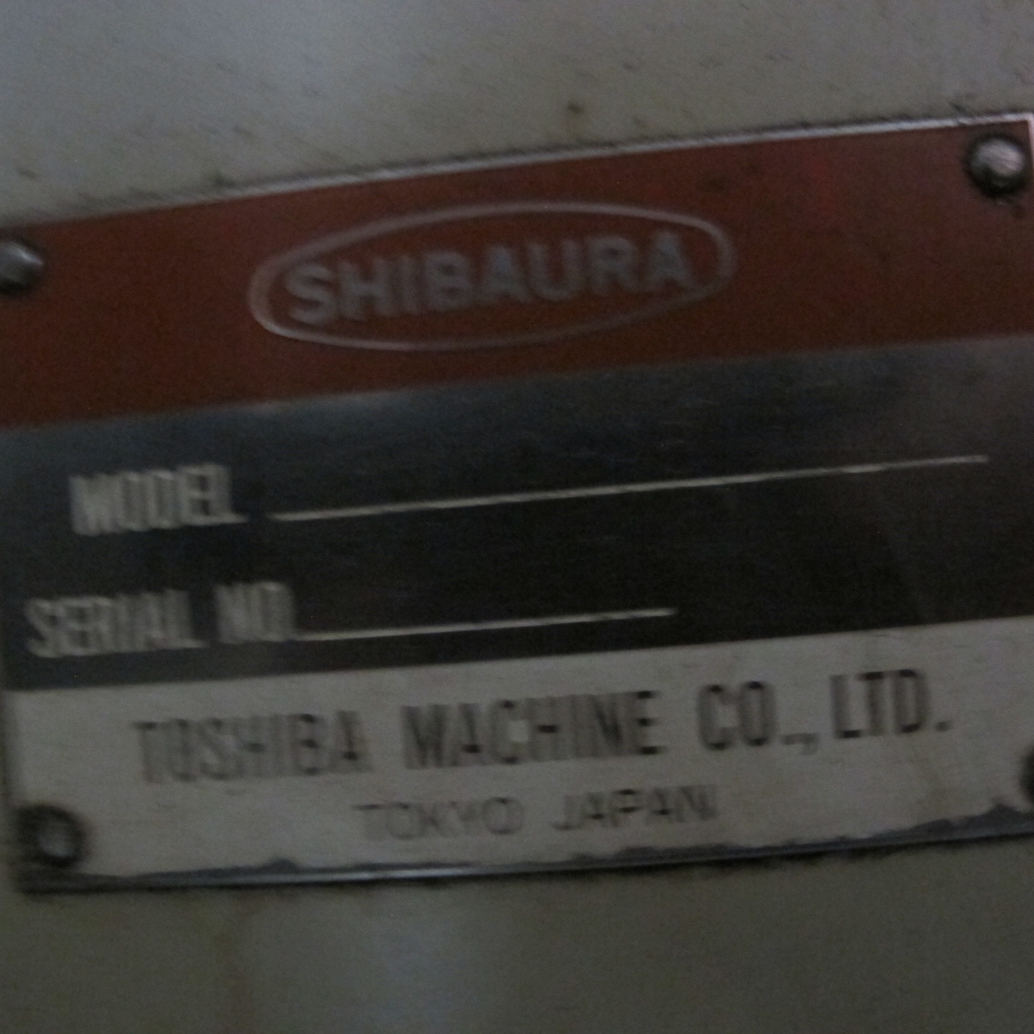 """SHIBAURA VMC-45 CNC VERTICAL MACHINING CENTER, 18"""" X 40"""" TABLE, TOSNUC CNC CONTROLS, 20 ATC, COOLING - Image 4 of 6"""