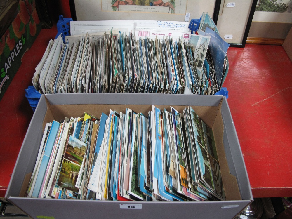 Lot 15 - Postcards- A large quantity, mainly topographical:- Two Boxes