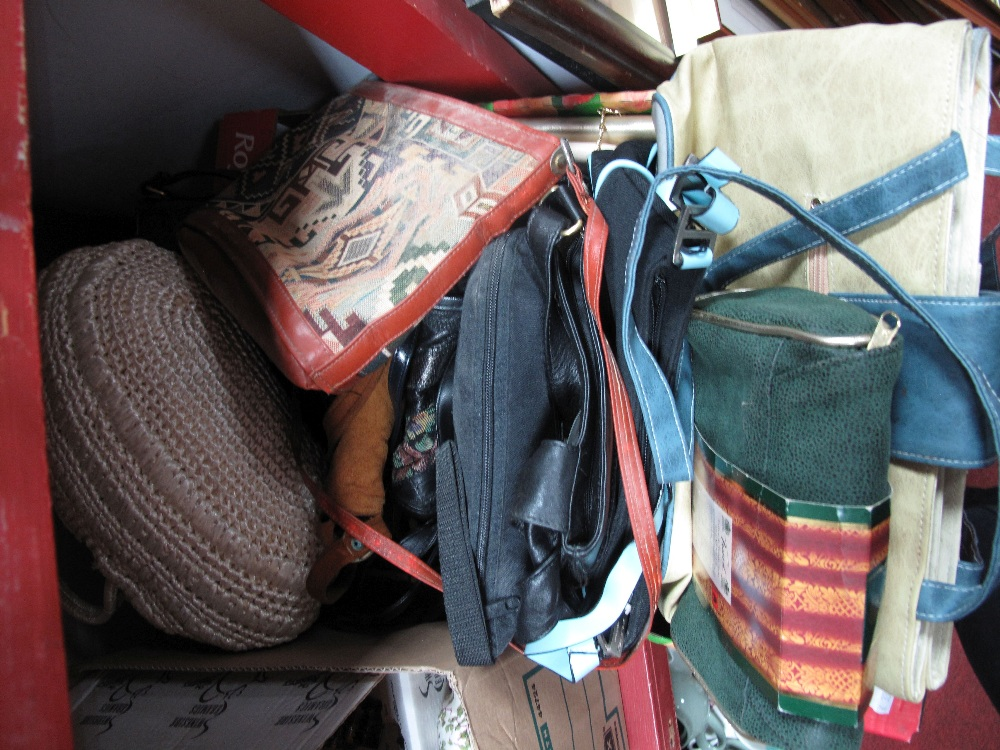 Lot 49 - A Collection of Vintage and Modern Handbags:- One Box