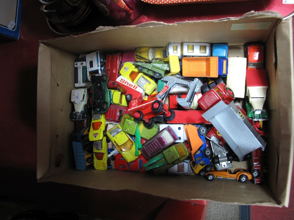 Lot 21 - Matchbox Diecast Models, playworn:- One Box