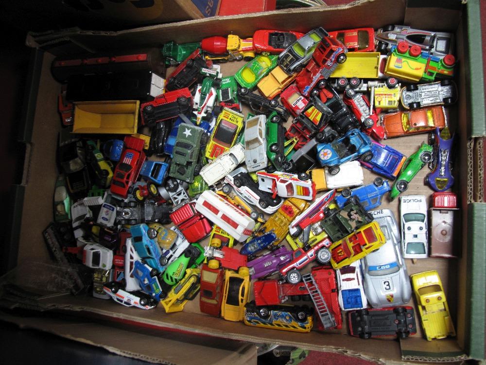 Lot 30 - A Quantity of Playworn Diecast Vehicles, by Matchbox, Hot Wheels, Corgi Whizwheels, etc.