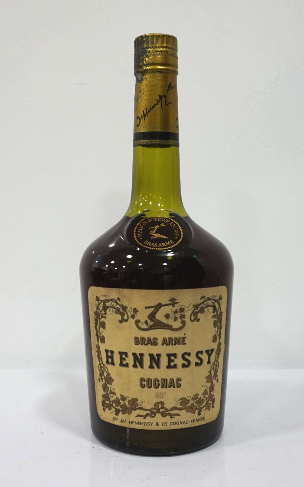 How to distinguish this Hennessy from forgery
