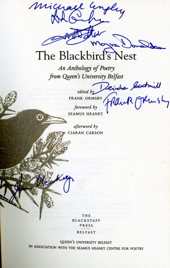 Ormsby (Frank, ed.) The Blackbird's Nes