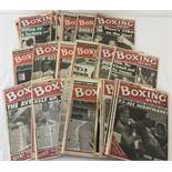 49 issues of Boxing News from the 1990's together with a Eubank/Benn supplement from Daily Mirror.