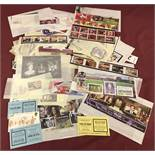 A collection of Isle Of Man collectors mint stamp sets and mini sheets.