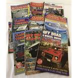 "14 copies of ""Classic Van & Commercials"" dating from 2001 - 2015."