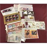 A small quantity of Ise Of Man collectors mint stamps.