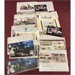 A quantity of Isle Of Man historical event collectors, mint stamp sets and mini sheets.