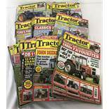 "25 copies of ""Tractor & Machinery"" magazine. Dates range from 2007 to 2015."