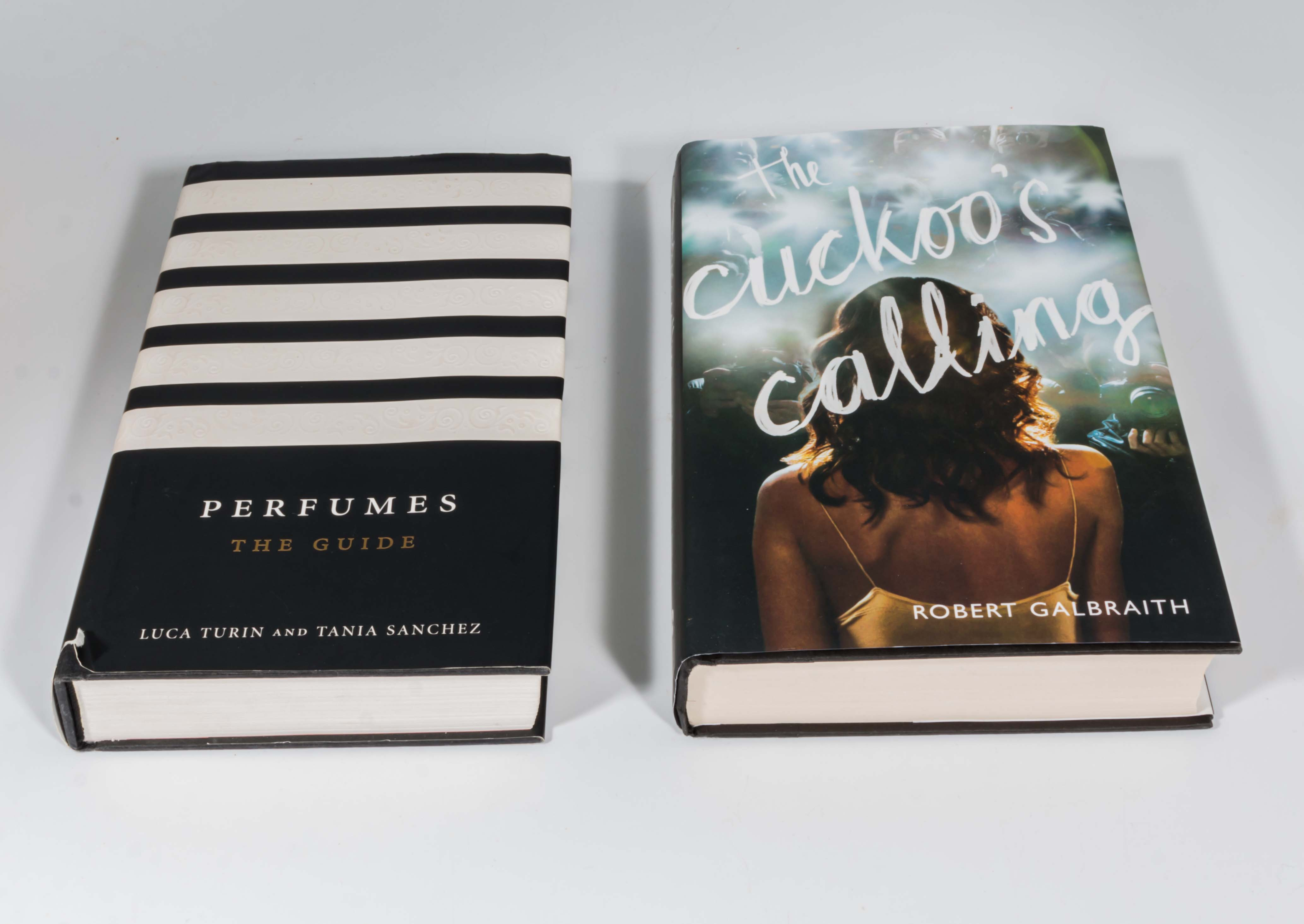 Lot 48 - A first edition of The Cuckoos Calling, Galbraith/JK Rowling, together with an edition of Perfumes