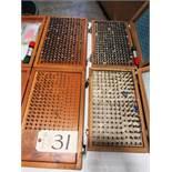 (2) 0.061 - 0.250 & (2) 0.251 - 0.500 Pin Gauges
