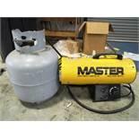 Master 60,000 BTU Heater with Tank