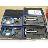 (2) Depth Gauges & (2) 1'' - 2'' Micrometers