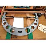 Mitutoyo 17'' - 18'' Micrometer with Standards