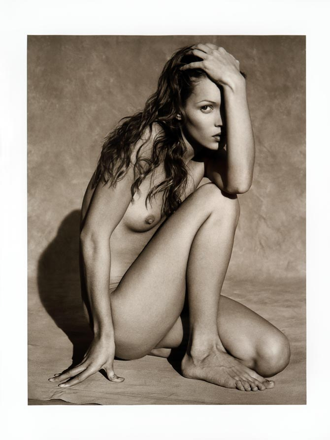 Casually, Kate moss first nude