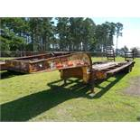 1953 Rogers Low Boy needs decking vin# 6012 NO TITLE