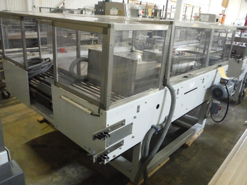 Lot 67 - 2007 Sidel divider conveyor, Model TDC_0004, SN 904835-SMMM0327, 98 in. long x 66 in. wide, with con