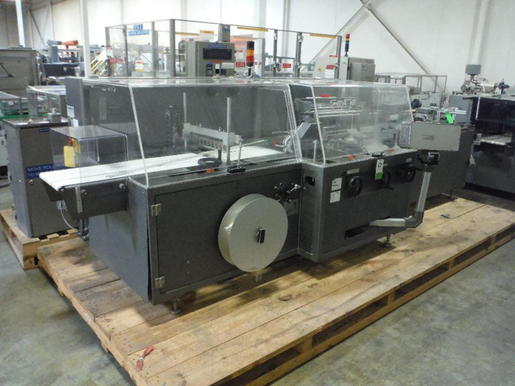 Lot 57 - 2003 Kalfass overwrapper, Model servo-Jet_400/100_S, SN M_07.03.011, Simatic touch screen ** Rigging