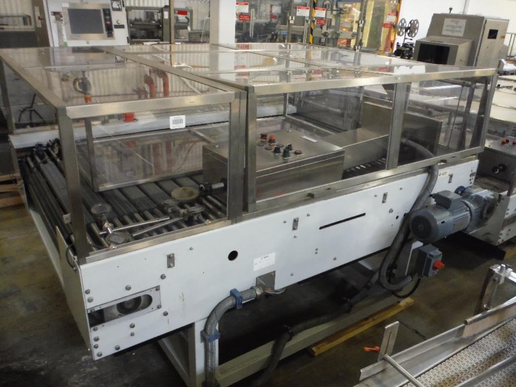 Lot 68 - 2007 Sidel combiner conveyor, Model TDC0014, SN 904835-SMMM0327, 98 in. long x 66 in. wide, with con