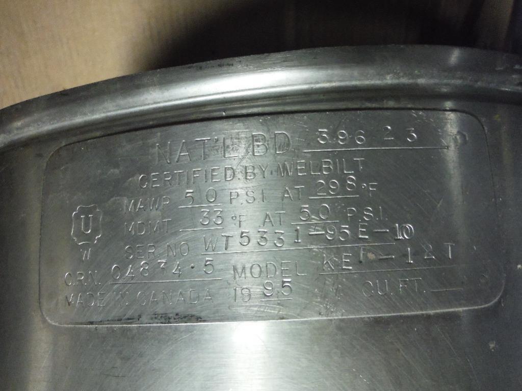 Lot 45 - 1995 Cleveland steam tilt kettle, Model KET-12T, SN WT5331-95E-10, ** Rigging Fee: $25 **