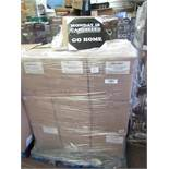 Pallet of approx 120 Mondays Cancelled novelty canvas prints, new