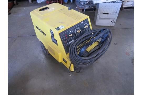 karcher hds 580 electric pressure washer located in chattanooga rh bidspotter com Steam Pressure Washer Karcher 3000G Parts